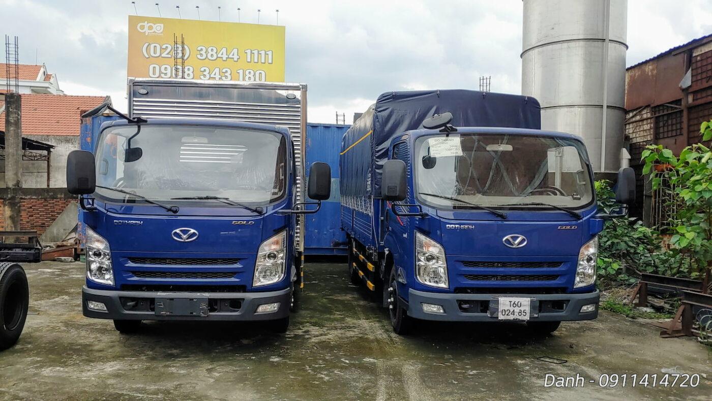 Thiết kế xe tải IZ65 Đô Thành