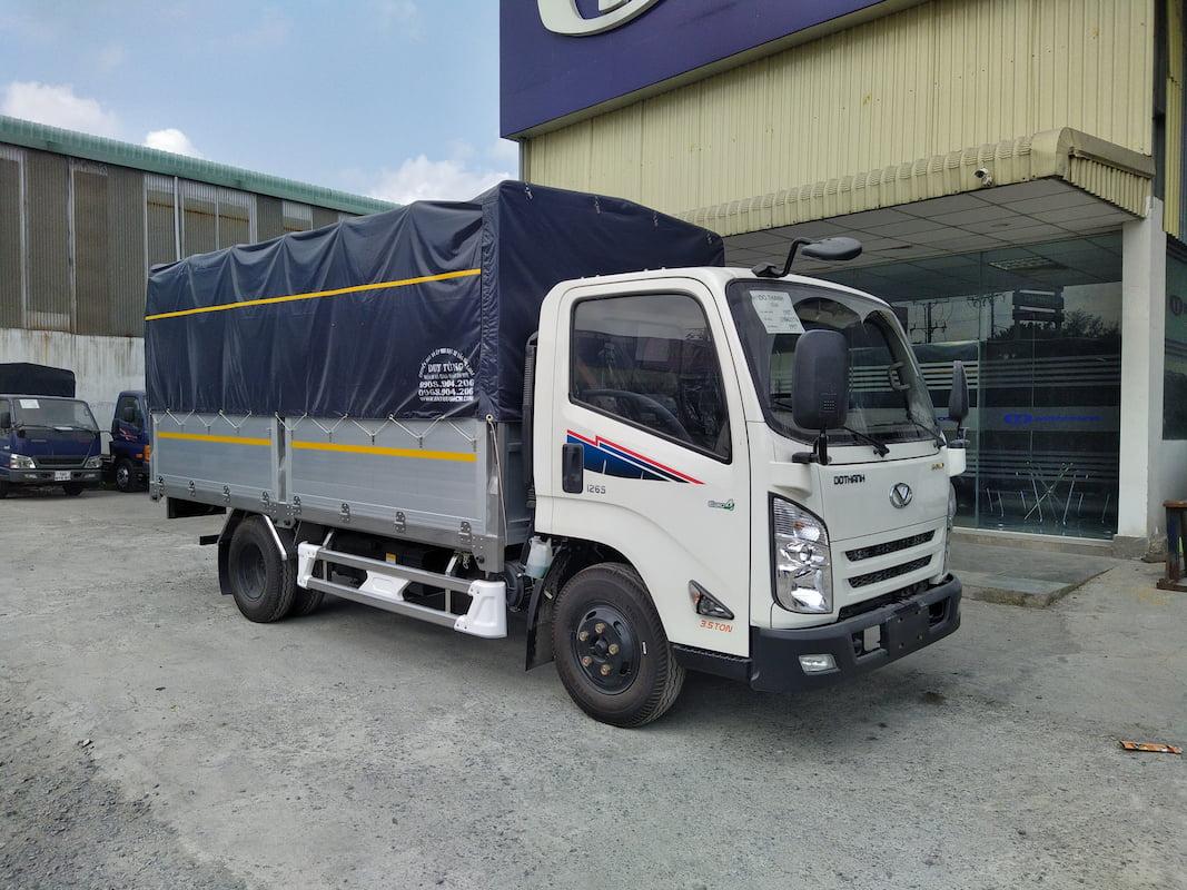 Xe tải IZ65 Đô Thành thùng nhôm