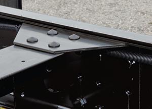 Kết cấu xe tải Daewoo chassis 2 lớp chắc chắn.