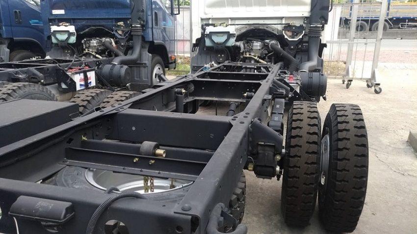 Kết cấu chassis xe tải Tera 240.