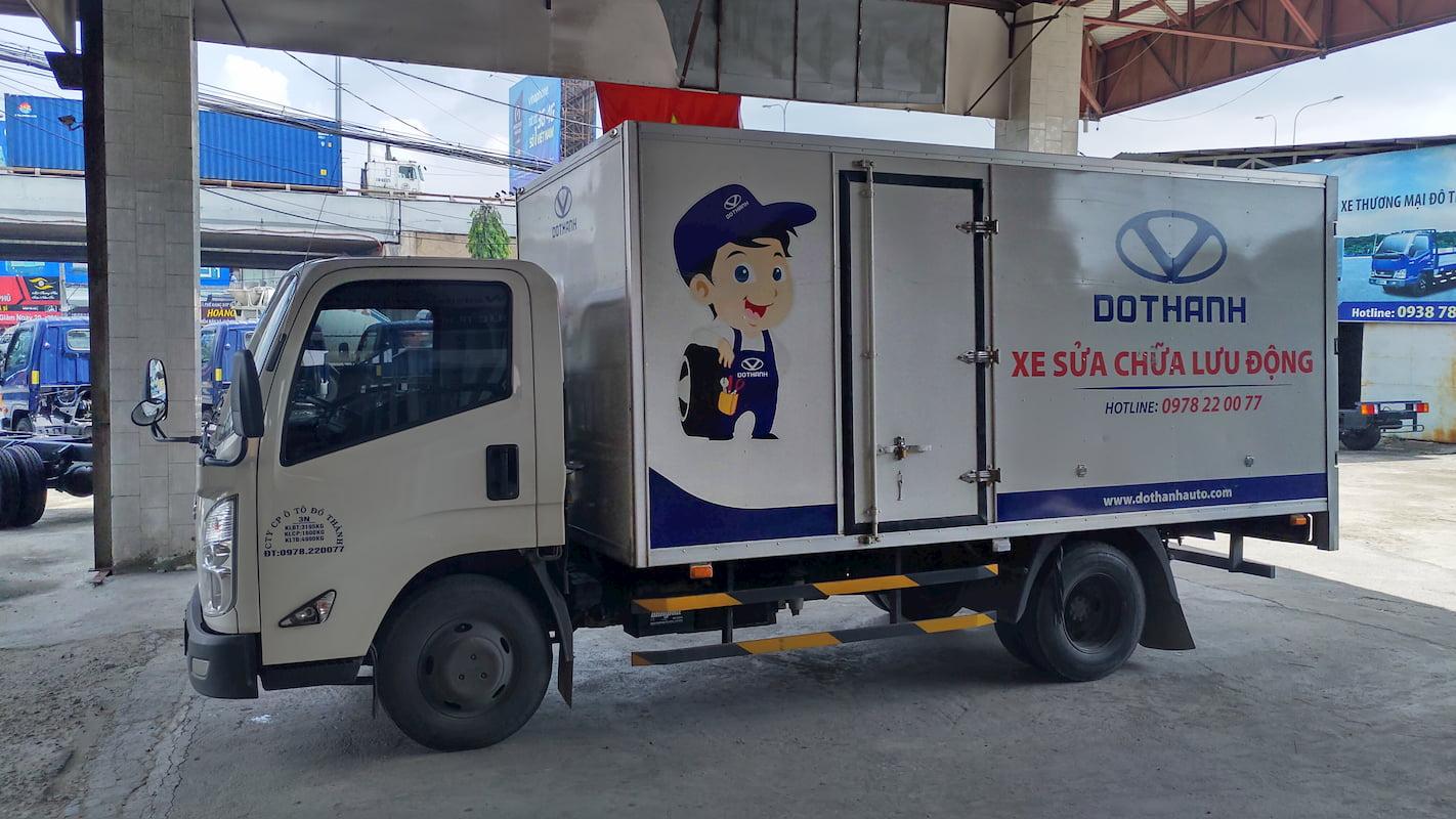 Dịch vụ bảo hành xe tải Đô Thành