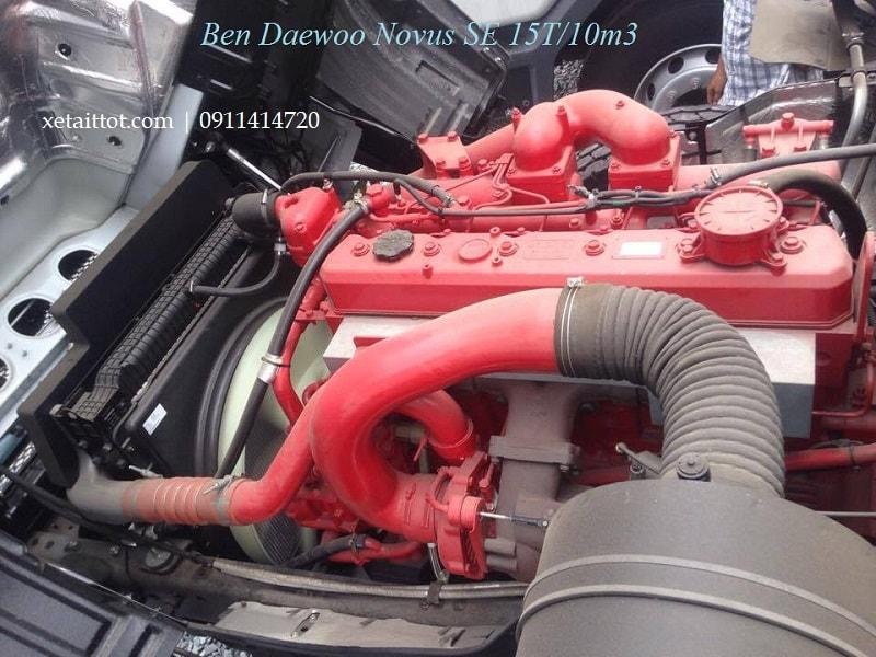 Động cơ ben Daewoo 10 khối 15 tấn.