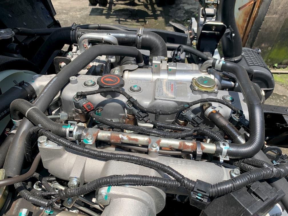 Hệ thống động cơ xe tải Đô Thành IZ65