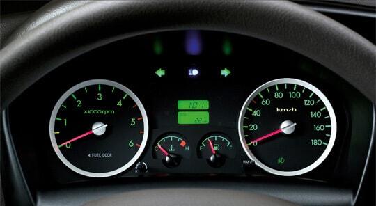 Đồng hồ hiển thị thông tin của xe tải Hyundai Porter 150