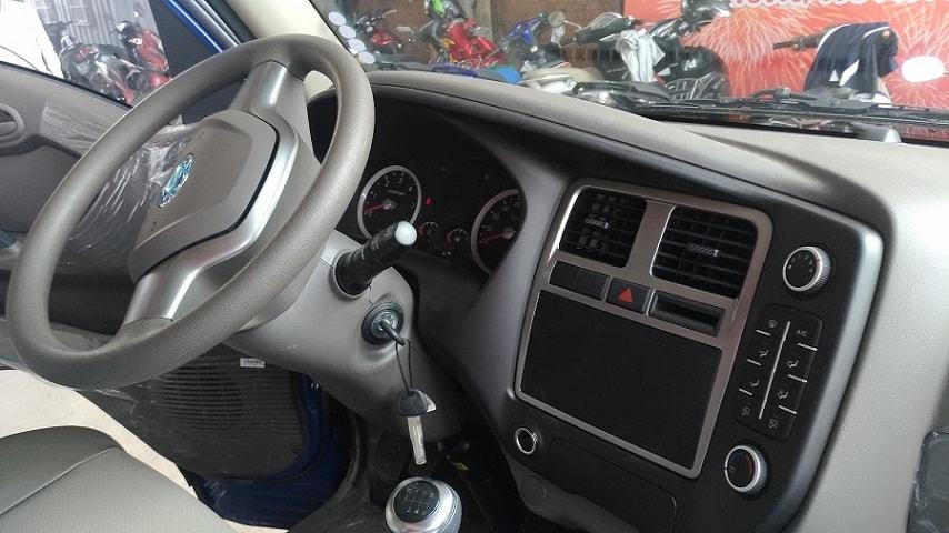 Nội thất xe tải Hyundai Porter H150