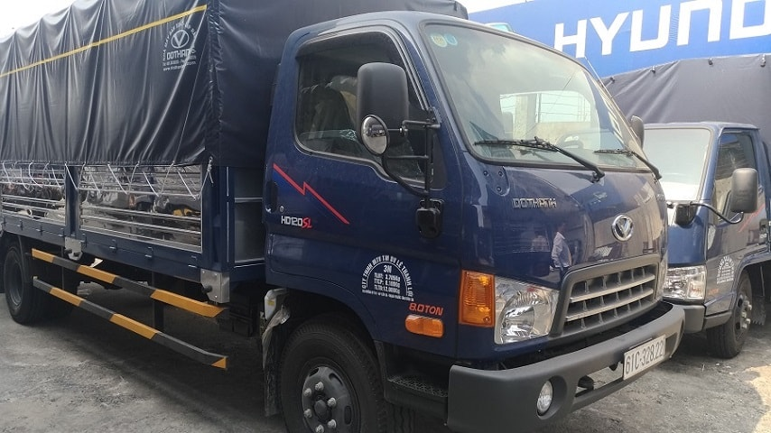 xe tải Hyundai HD120 sl