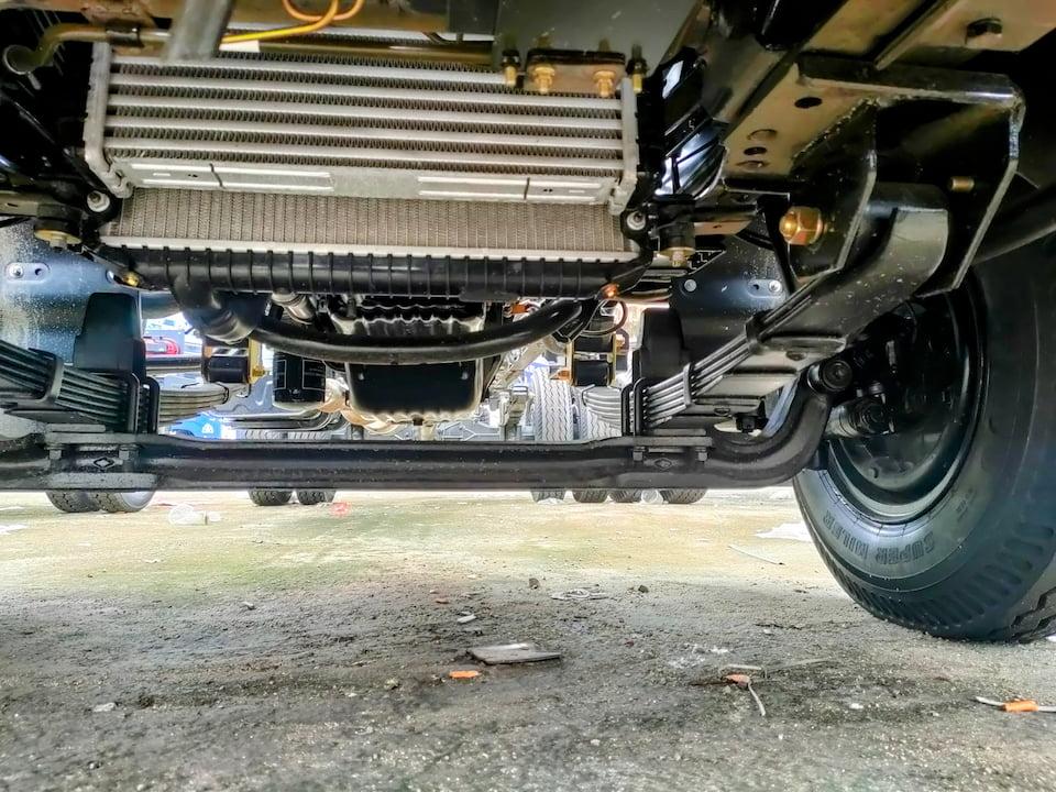 Kết cấu khung gầm chassis
