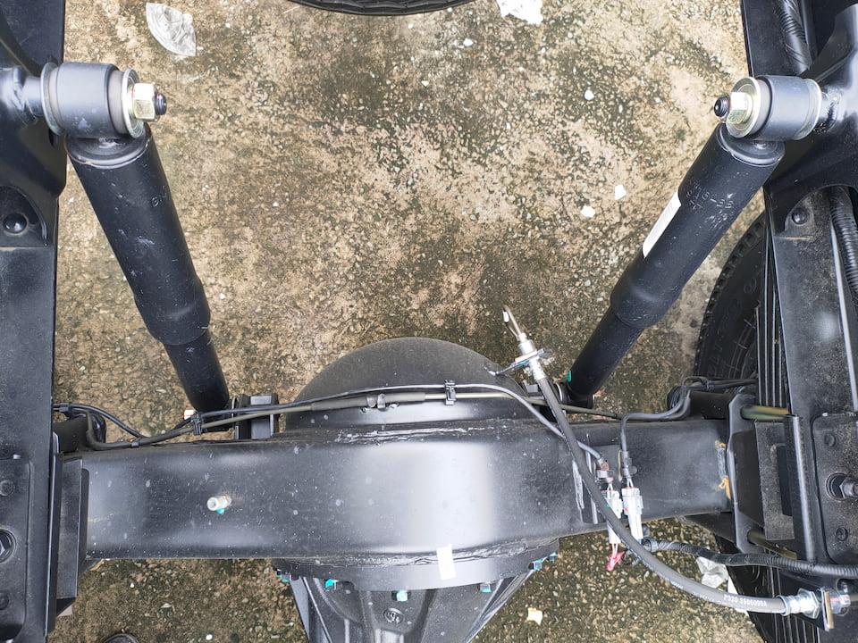 Hệ thống treo sau của xe