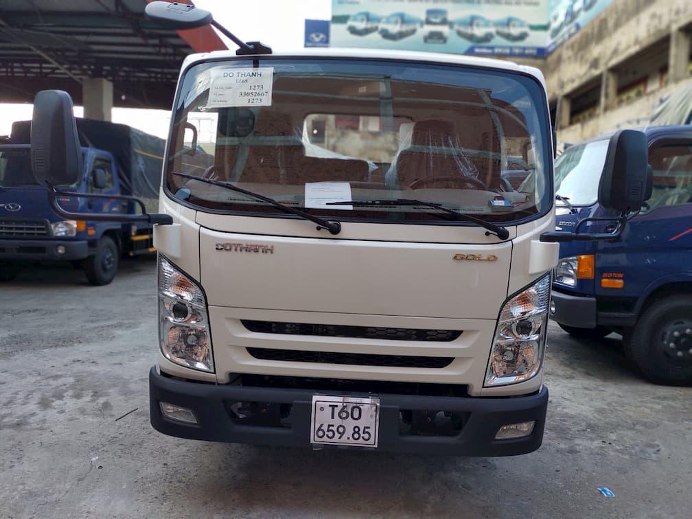 Ngoại hình hiện đại của xe tải IZ65