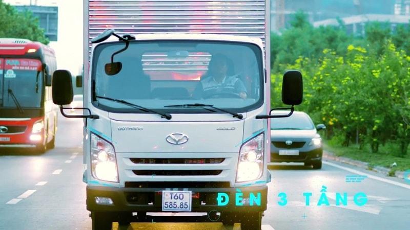 Cùng xe tải IZ65 Đô Thành tự tin trên đường.