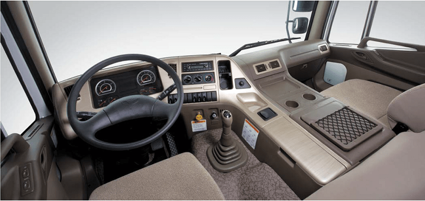 Nội thất xe đầu kéo Daewoo Novus SE nội thất