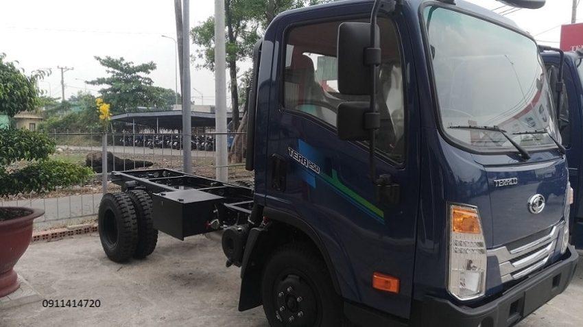 Chassis xe tải tera 250 vững chải