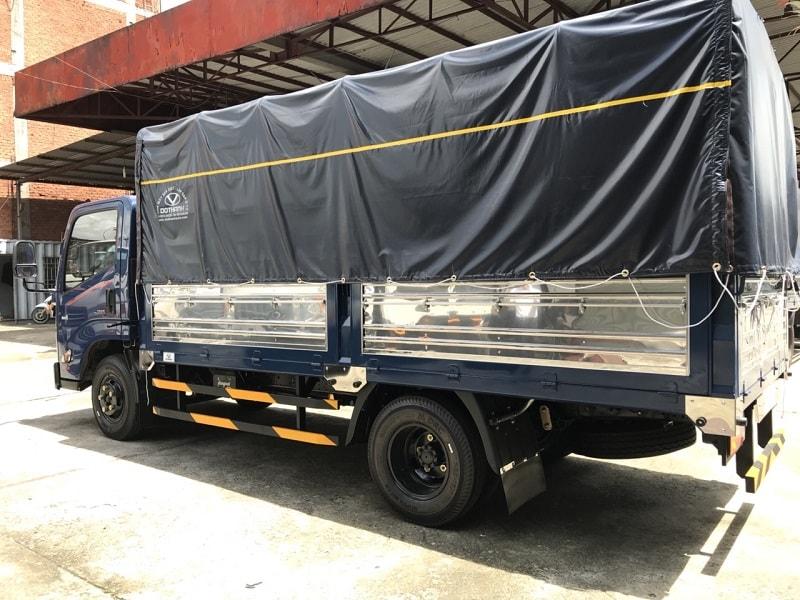 Thùng xe tải IZ65 Đô Thành mui bạt