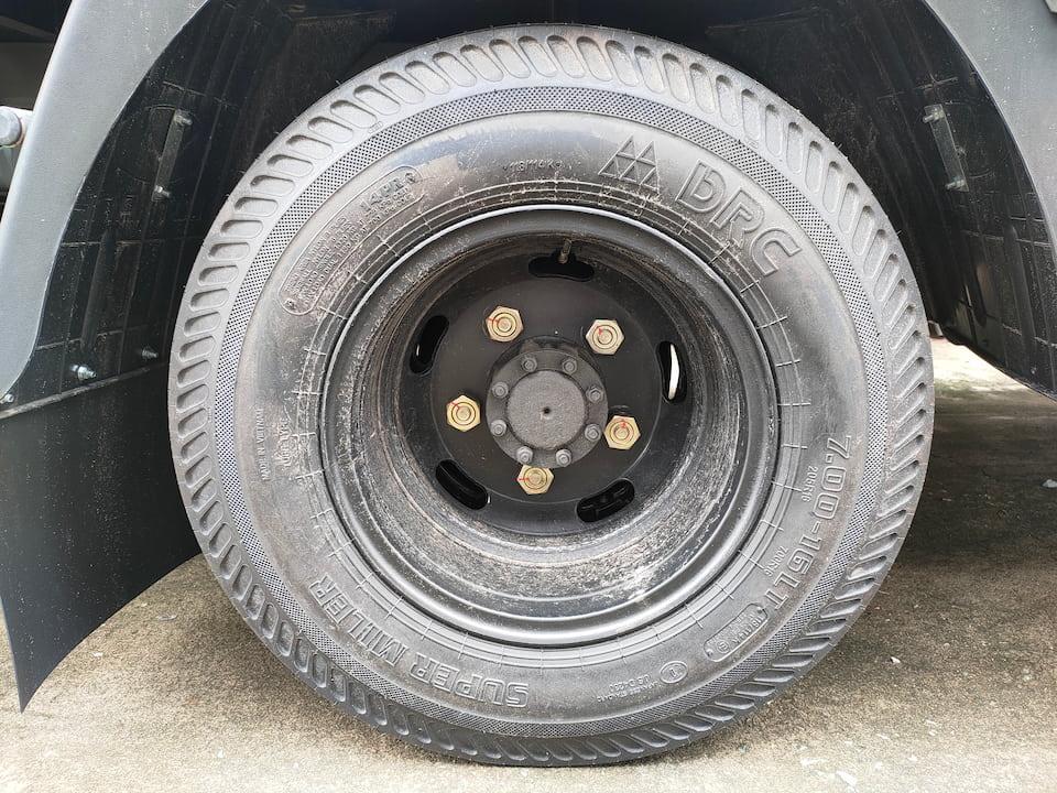 Lốp xe 7.0 đồng bộ