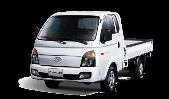Ngoại thất xe tải Hyundai Porter H150 1T4
