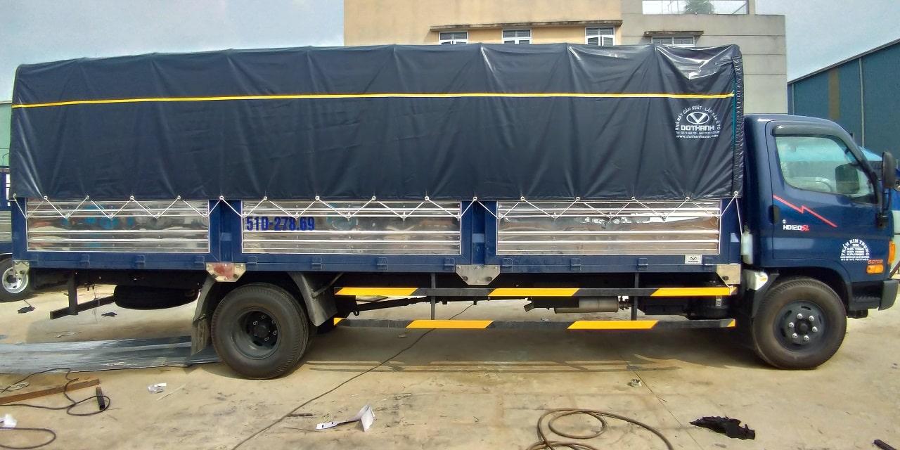 Hyundai 8 tấn HD120SL thùng mui bạt