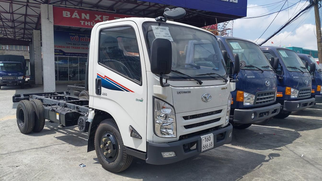 Thiết kế ngoại thất ca-bin xe tải IZ65 Đô Thành 3.5 tấn
