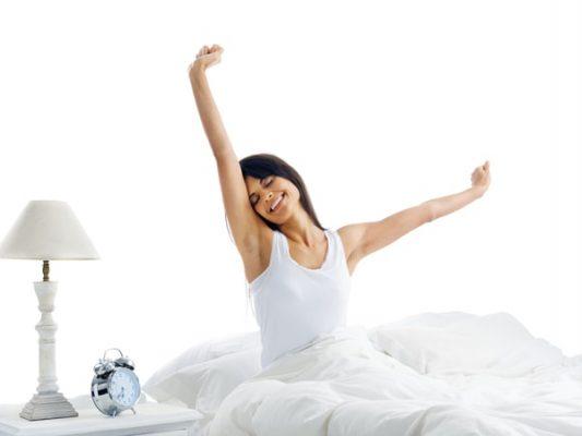 Khỏe khi thức dậy
