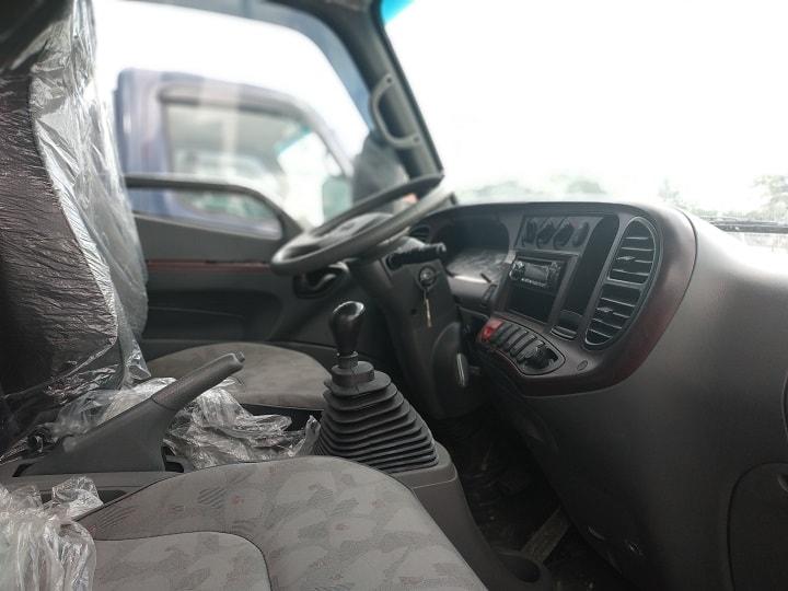 Nội thất xe ben Hyundai Mighty HD65