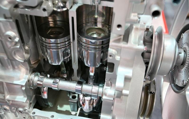 Ảnh chi tiết Động cơ xe IZ49 Đô Thành