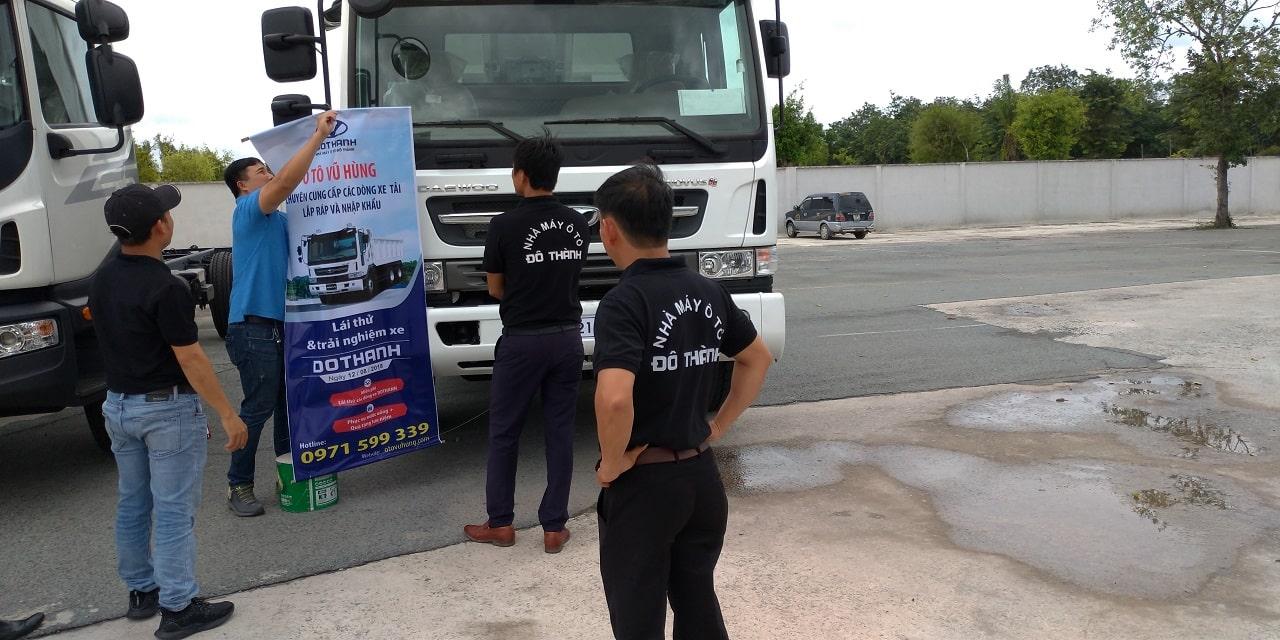 Khuyến mãi giá xe tải tại Vũ Hùng