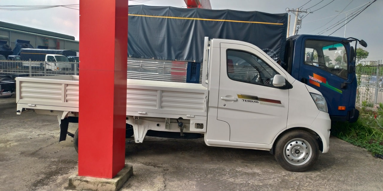 Xe tải 1 tấn Tera 100 từ nhà máy Daehan