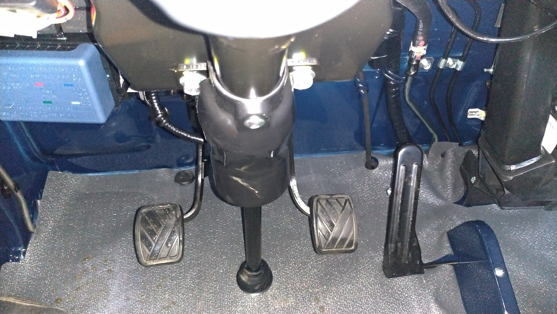 Pedal điều khiển của xe tải nhẹ Suzuki
