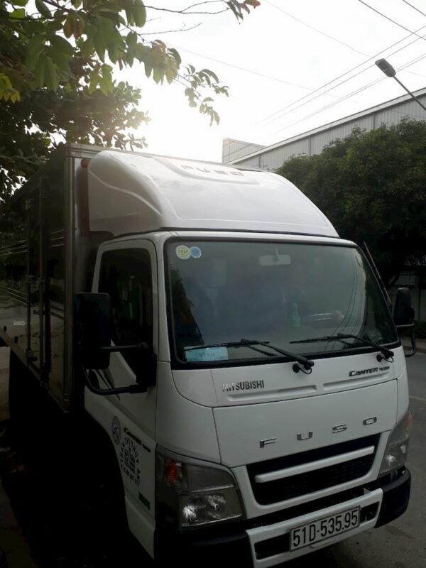Mui lướt gió xe tải Fuso