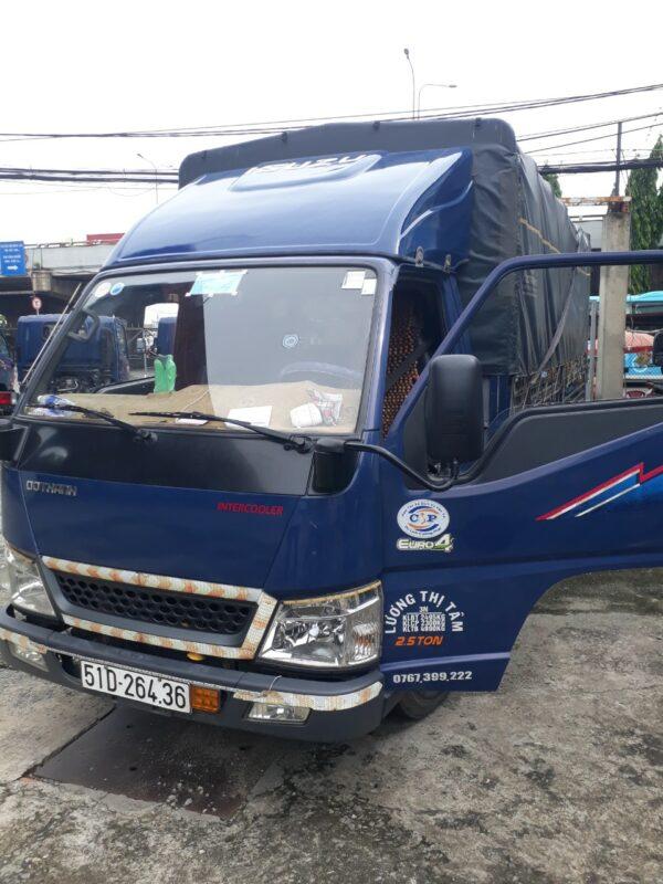 Mui lướt gió xe tải Đô Thành IZ49