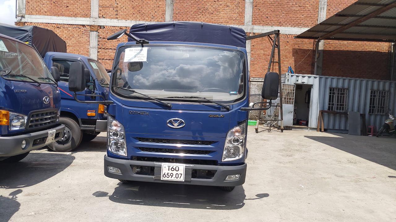 Thiết kế ca-bin xe tải Đô Thành IZ65 1.9 tấn