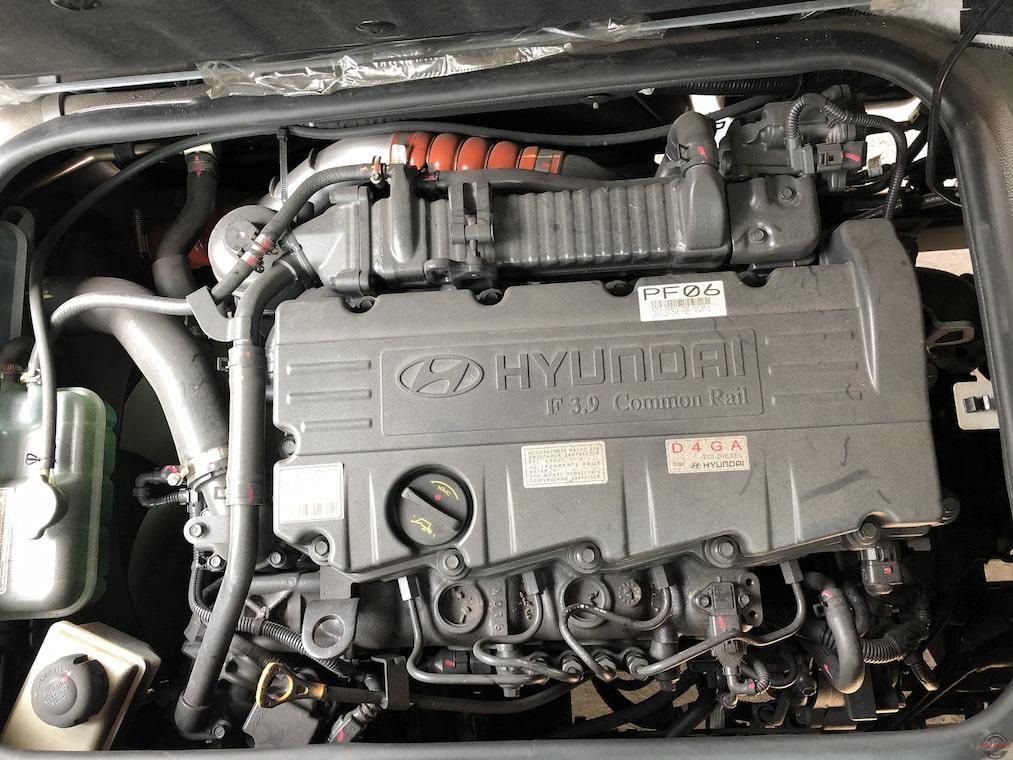 Động cơ Hyundai D4GA xe Hyundai 75S