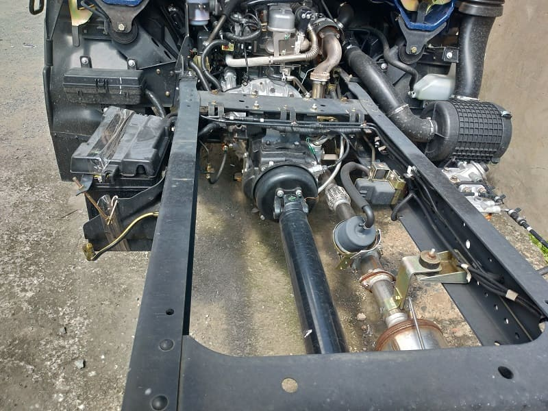Khung chassis kết cấu xe tải IZ65