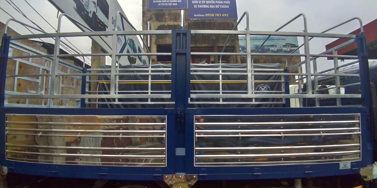 Khung thùng xe tải IZ65 1,9 tấn