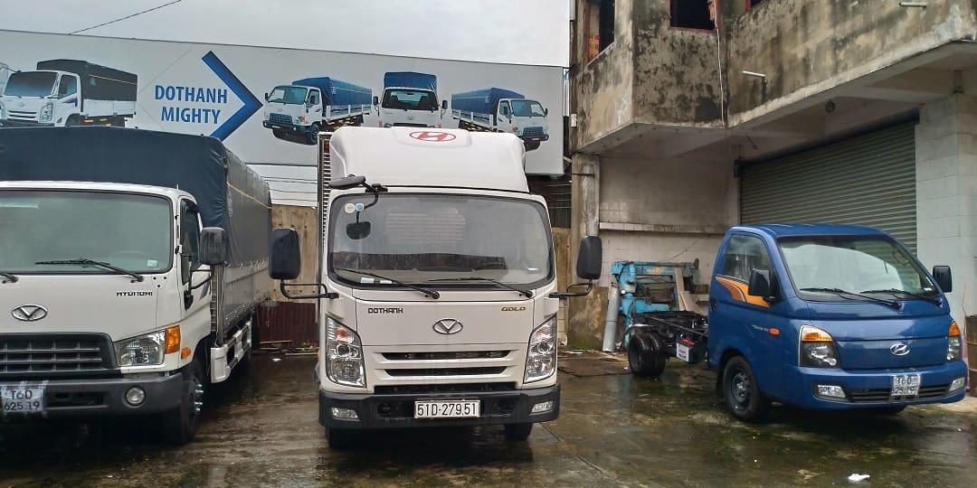 Mui lướt gió xe tải