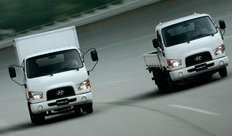Dòng xe tải Hyundai New Mighty mới nhất