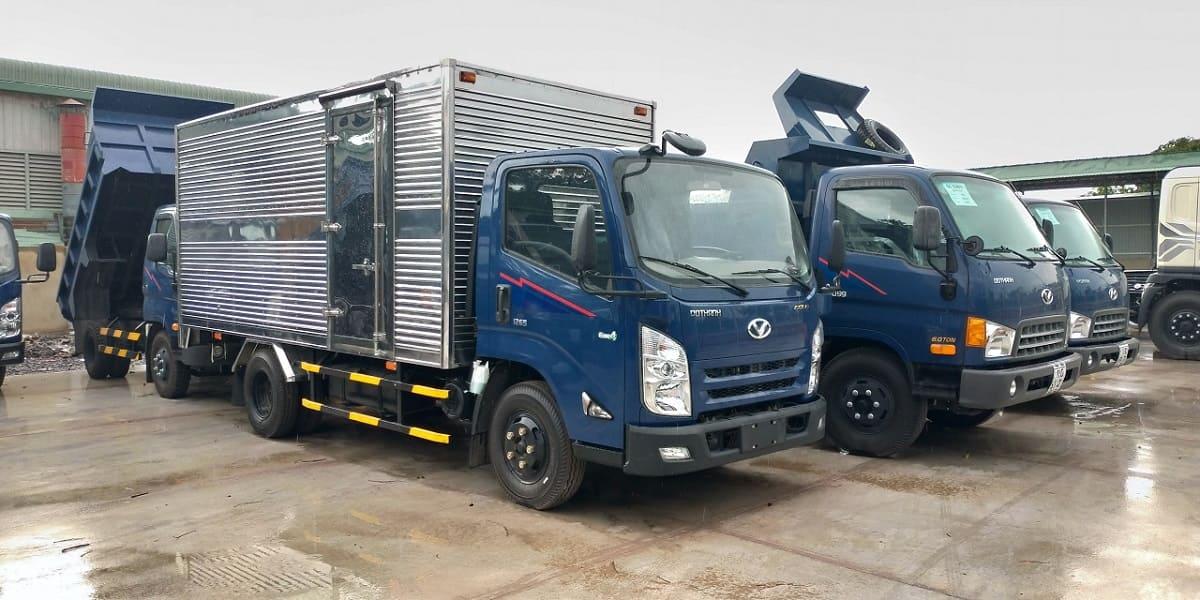 Xe IZ65 thùng kín 1,9 tấn