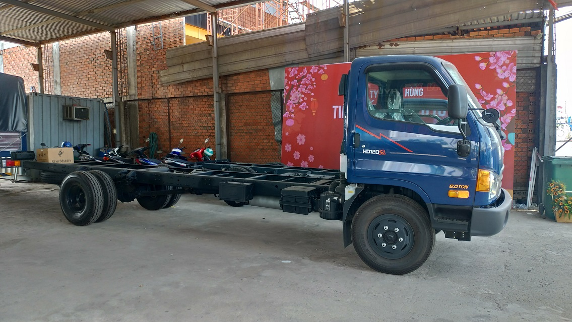 Chassis Cab xe tải HD120Sl