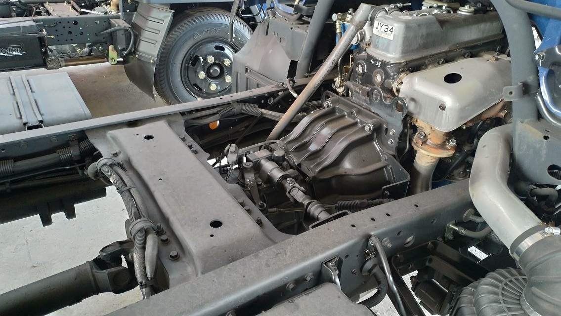 Hộp số xe 5 cấp Hyundai bền bỉ