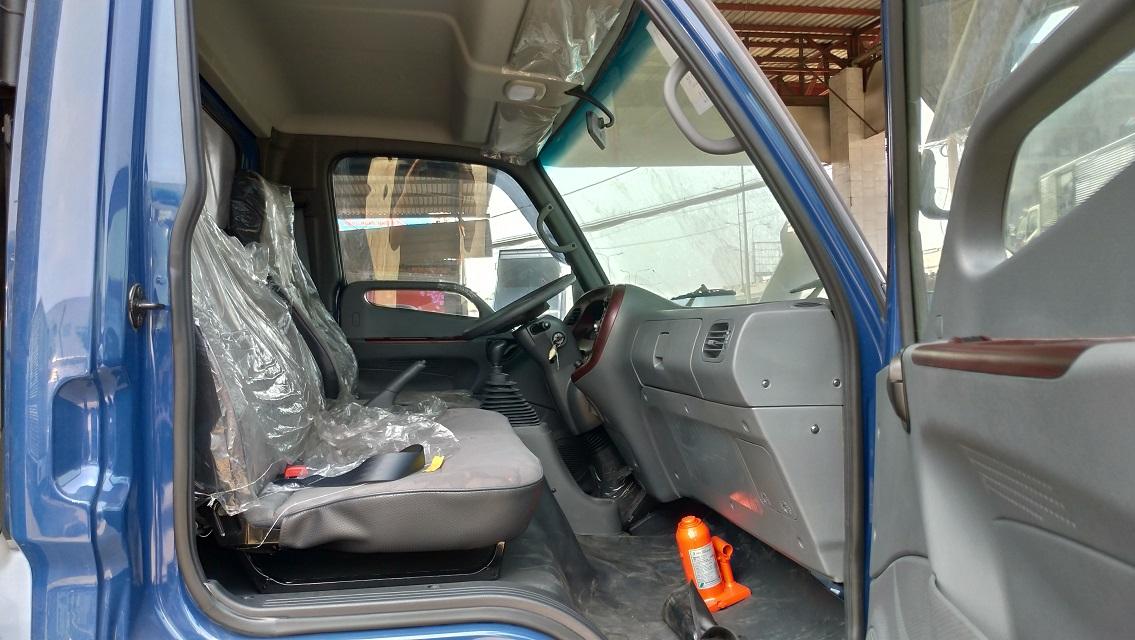 Nội thất xe sang trọng, cao cấp và nguyên bản. Đúng theo giá xe tải Hyundai HD120SL
