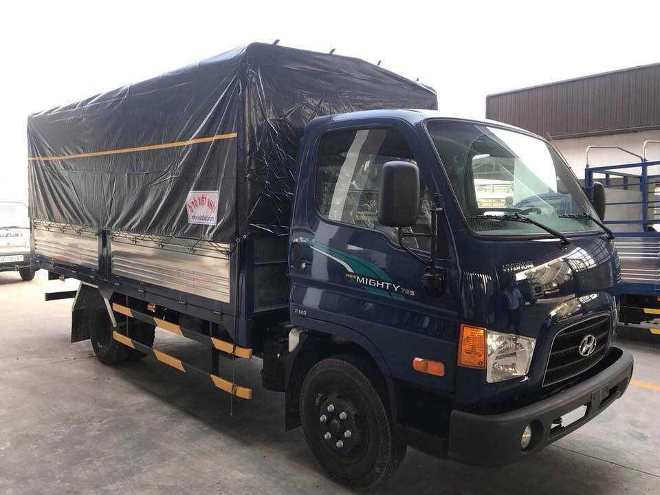 Hyundai Mighty 75S thùng mui bạt