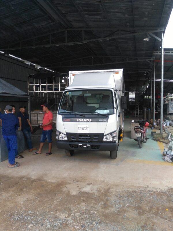 Mui dành cho xe tải ISUZU 1,9 tấn đến 2,5 tấn
