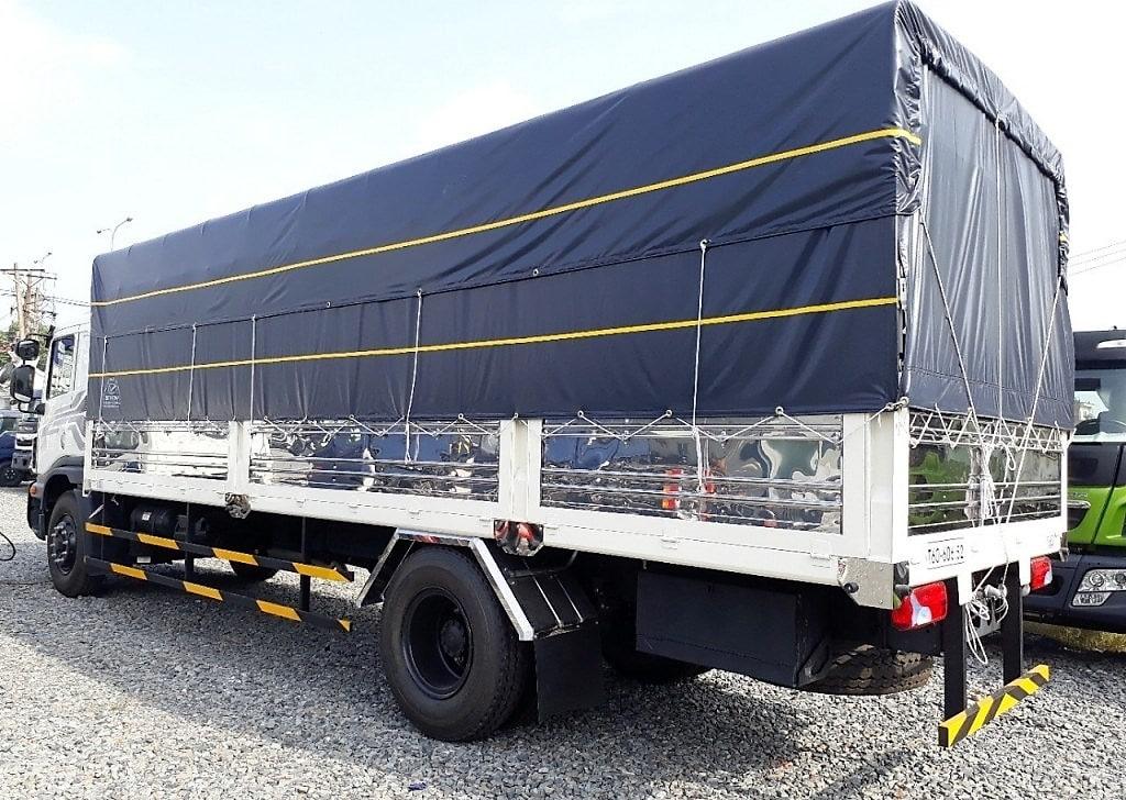 Daewoo 9 tấn thùng mui bạt dài 7,6 m