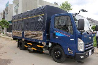 Giá xe tải IZ65 Đô Thành thùng mui bạt