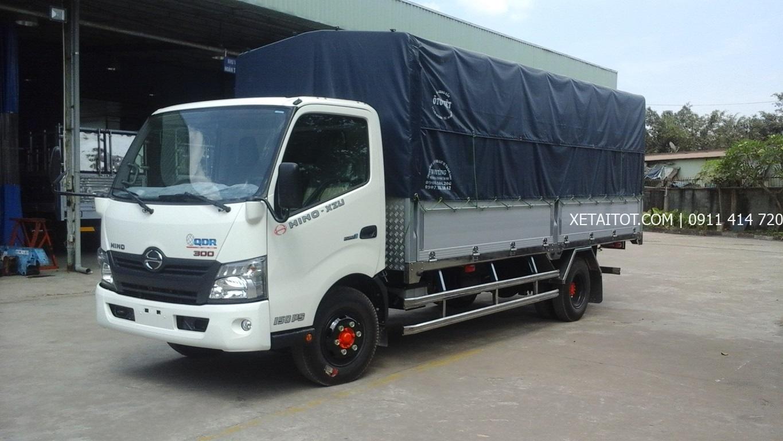 Xe tải Hino 2.4 tấn