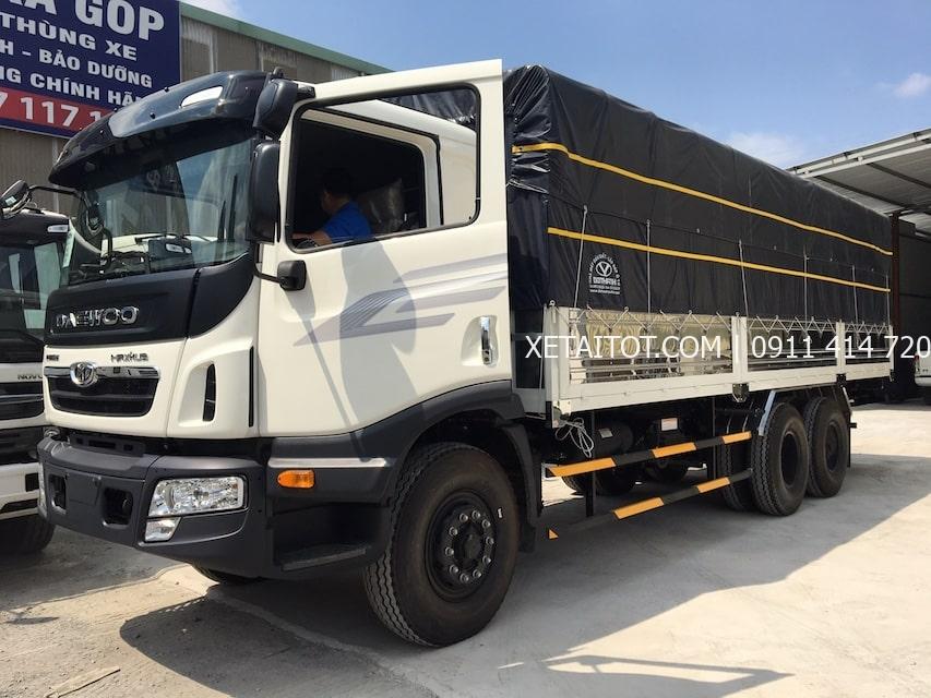 Xe tải Daewoo 15 tấn HU6AA. 3 chân
