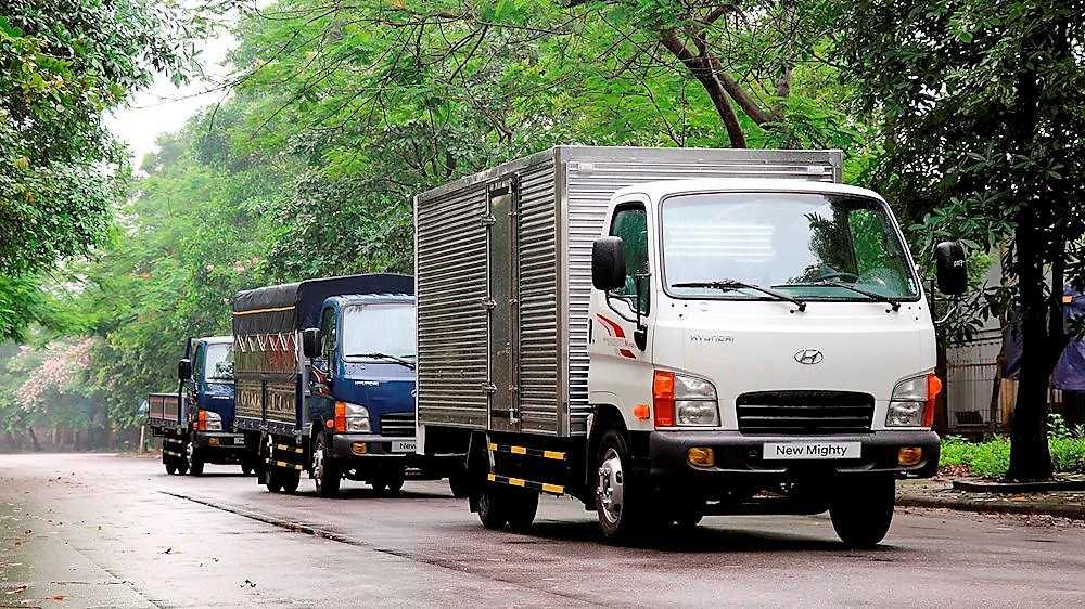 Xe tải Hyundai N250 thùng dài là một thay đổi dáng khen