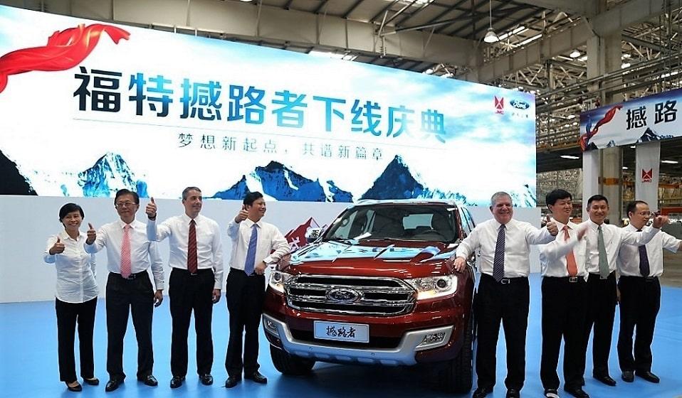 Buổi ra mắt xe tải của Ford và JMC hợp tác