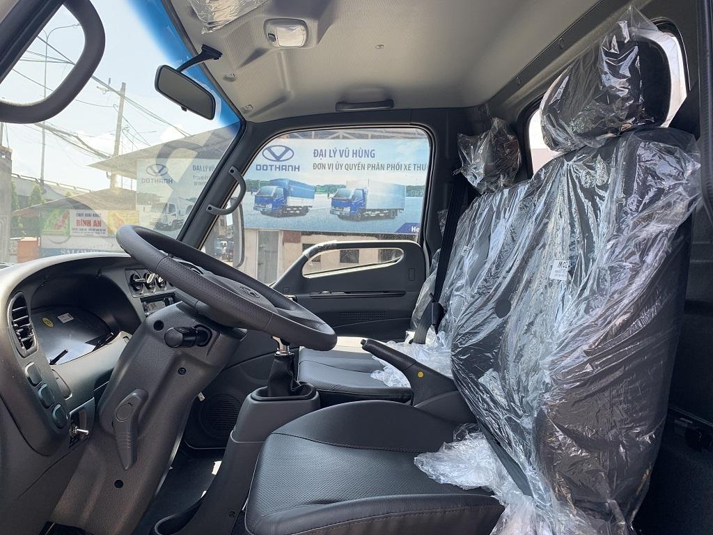 Không gian nội thất xe tải Hyundai New Mighty N250