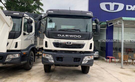 Xe tải Daewoo 15 tấn HU8AA 3 chân