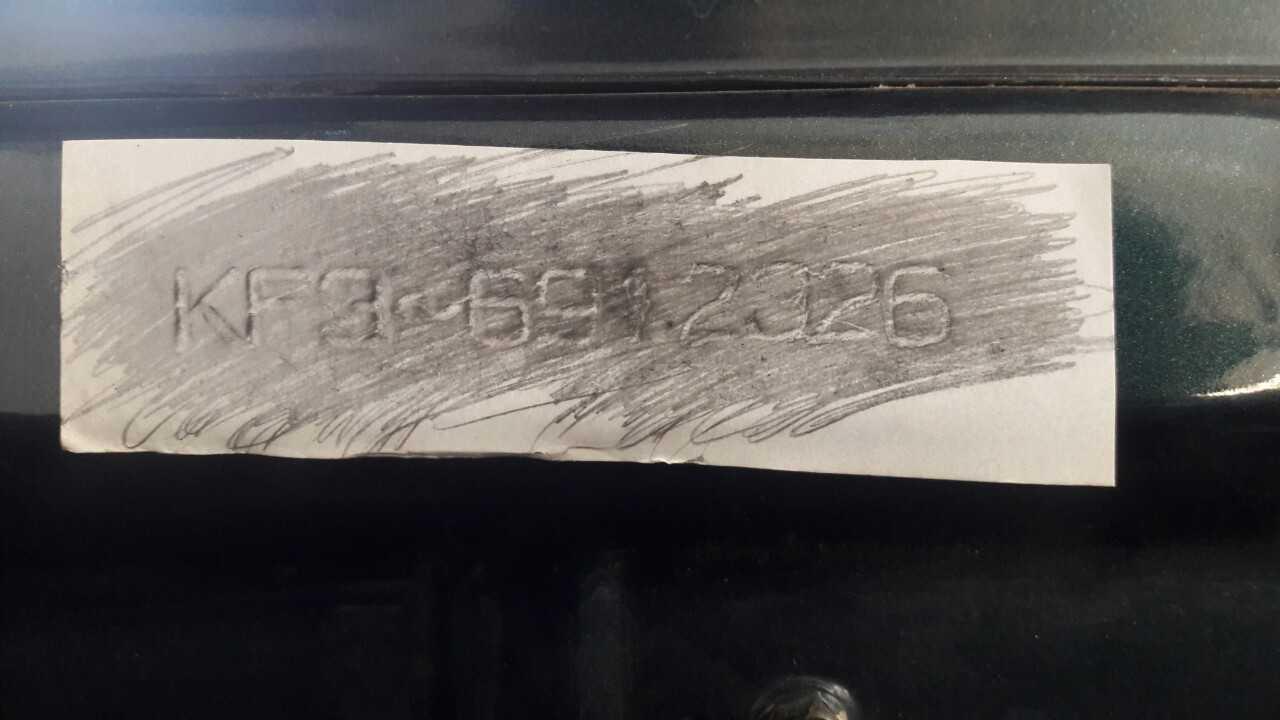 Cà số khung và số máy của xe